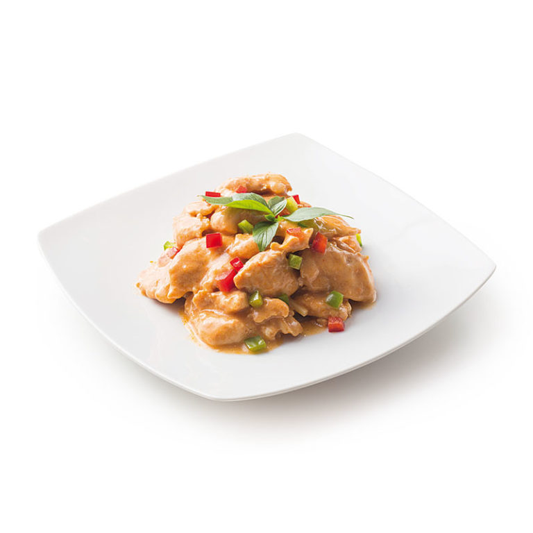 Poulet Curry Rouge